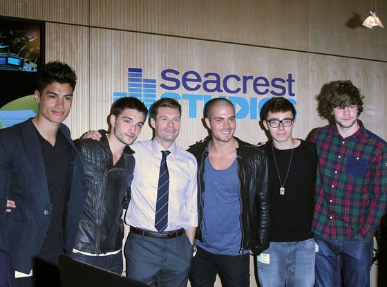Ryan Seacrest, The Wanted