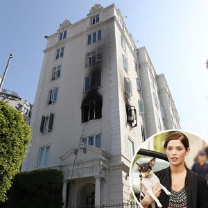 Ashley Greene, Apartment Fire