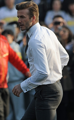 David Beckham, Butt