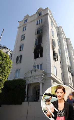 Ashley Greene, Apartment Fire