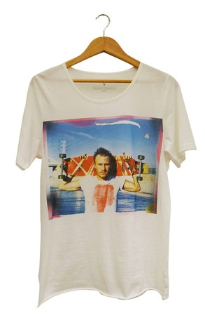 Heath Ledger charity T-shirt