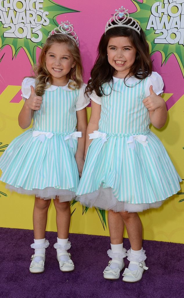 Singers Sophia Grace, Rosie, Kids Choice Awards