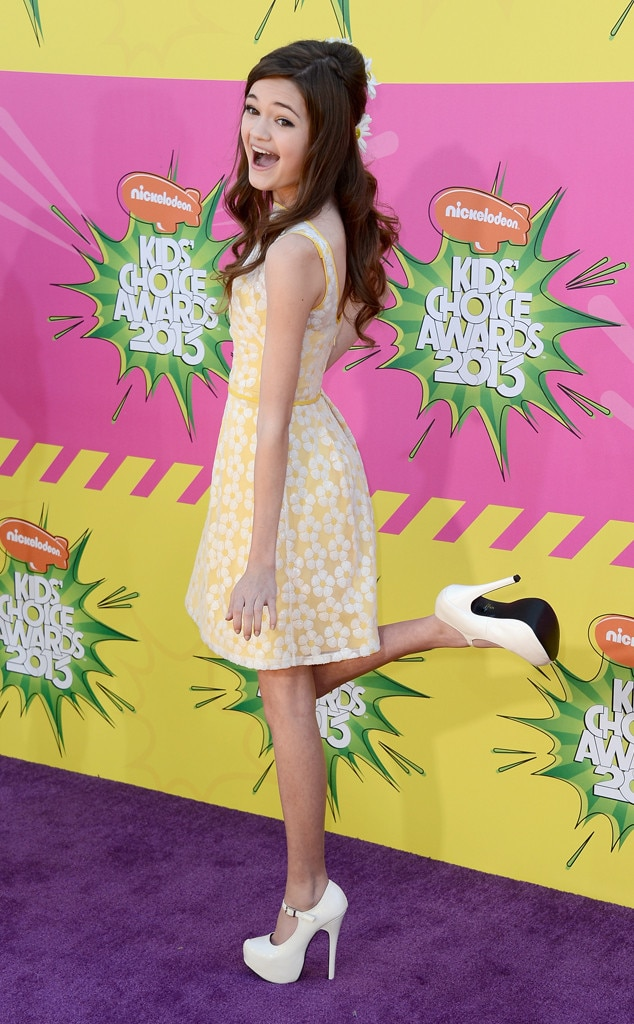 Ciara Bravo, Kids Choice Awards