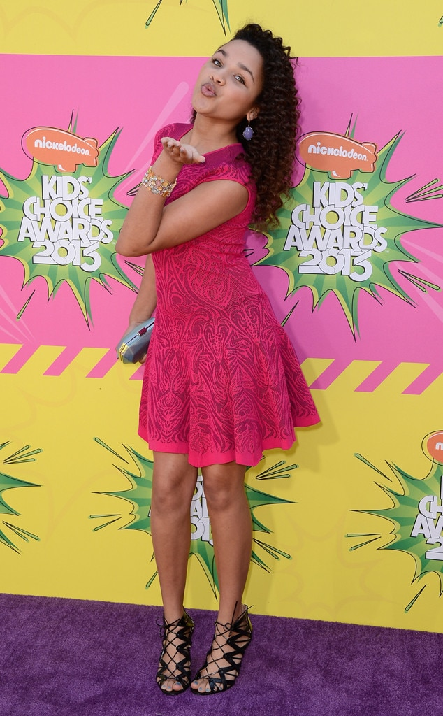 Jaylen Barron, Kids Choice Awards