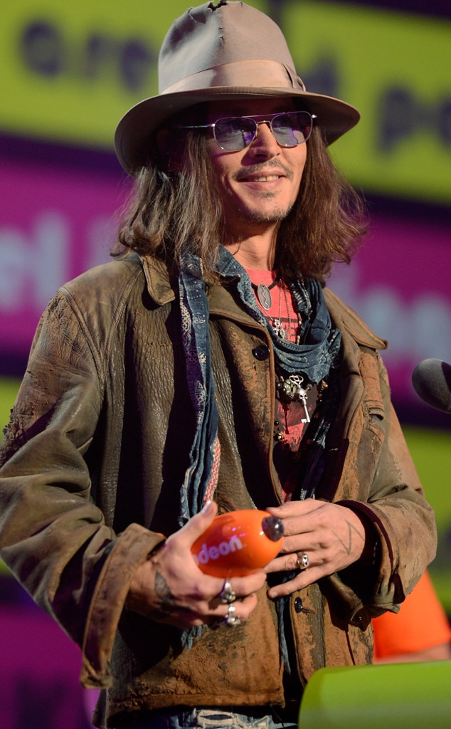 Johnny Depp, Kids Choice Awards Show