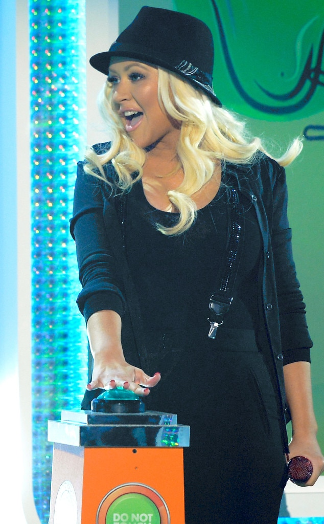 Christina Aguilera, Kids Choice Awards Show