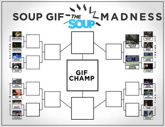Gif Madness Bracket Update 3-25