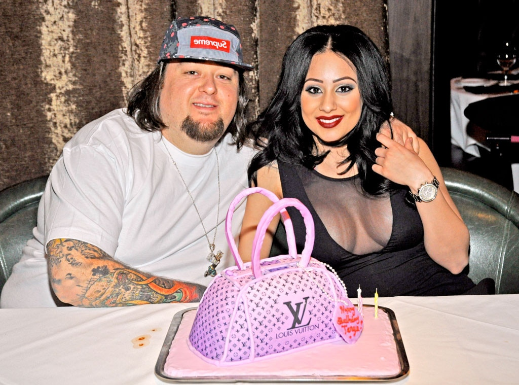 Chumlee with his girlfriend Tanya Hyjazi