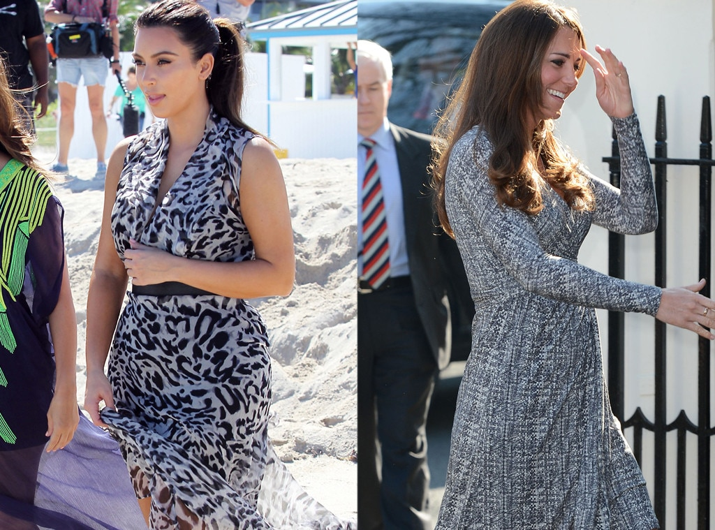Kim Kardashian, Kate Middleton, Duchess Catherine, Pattern