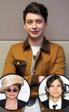 Yoko Ono, Ashton Kutcher, Nick D'Aloisio