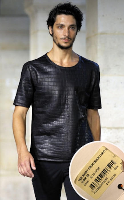 World's Most Expensive Shirt, Hermes