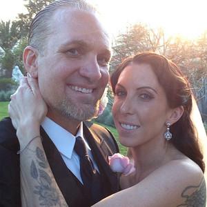 Jesse James, Alexis Dejoria, Wedding