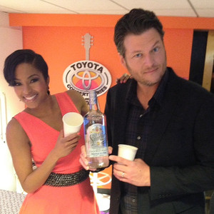 Alicia Quarles, Blake Shelton