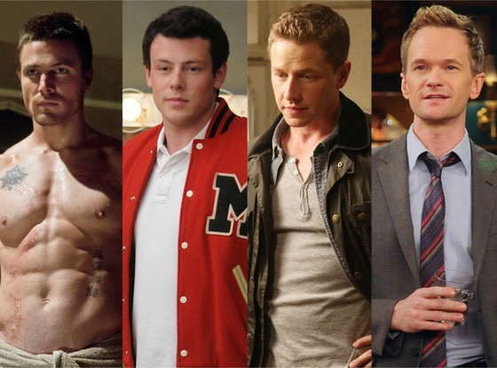 Stephen Amell, Arrow, Cory Monteith, Glee, Josh Dallas, Once Upon a Time, Neil Patrick Harris, How I Met Your Mother