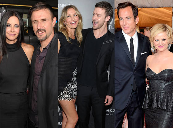 Courteney Cox, David Arquette, Cameron Diaz, Justin Timberlake, Will Arnett, Amy Poehler