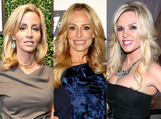 Camille Grammer, Taylor Armstrong, Tamra Barney