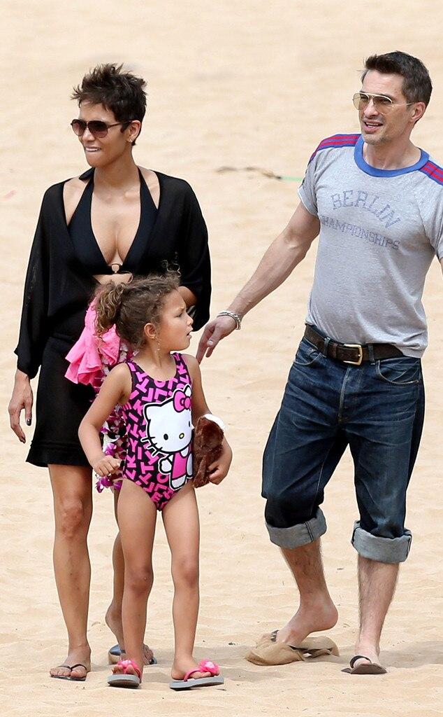 Halle Berry, Olivier Martinez, Nahla, Hawaii