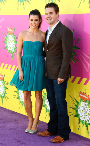 Danica PatricK, Ricky Stenhouse Jr., Nickelodeons 26th Annual Kids Choice Awards