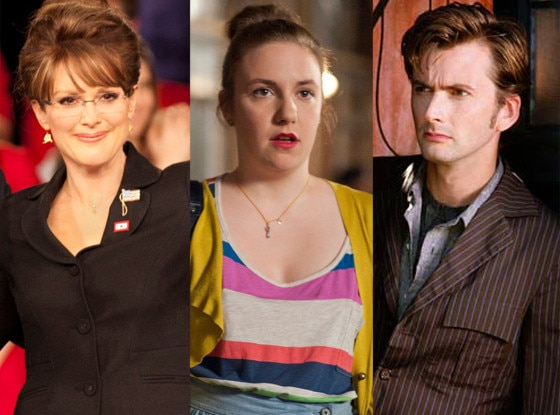 Julianne Moore in Game Change, Lena Dunham, Girls, Dr. Who
