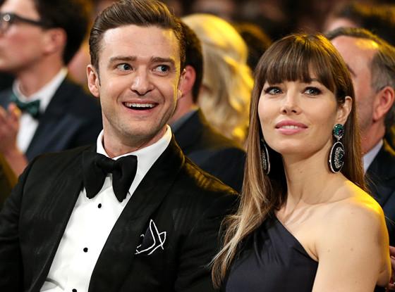 Jessica Biel, Justin Timberlake, Grammys