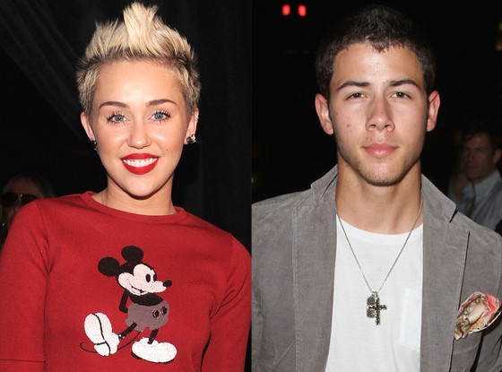 Miley Cyrus, Nick Jonas