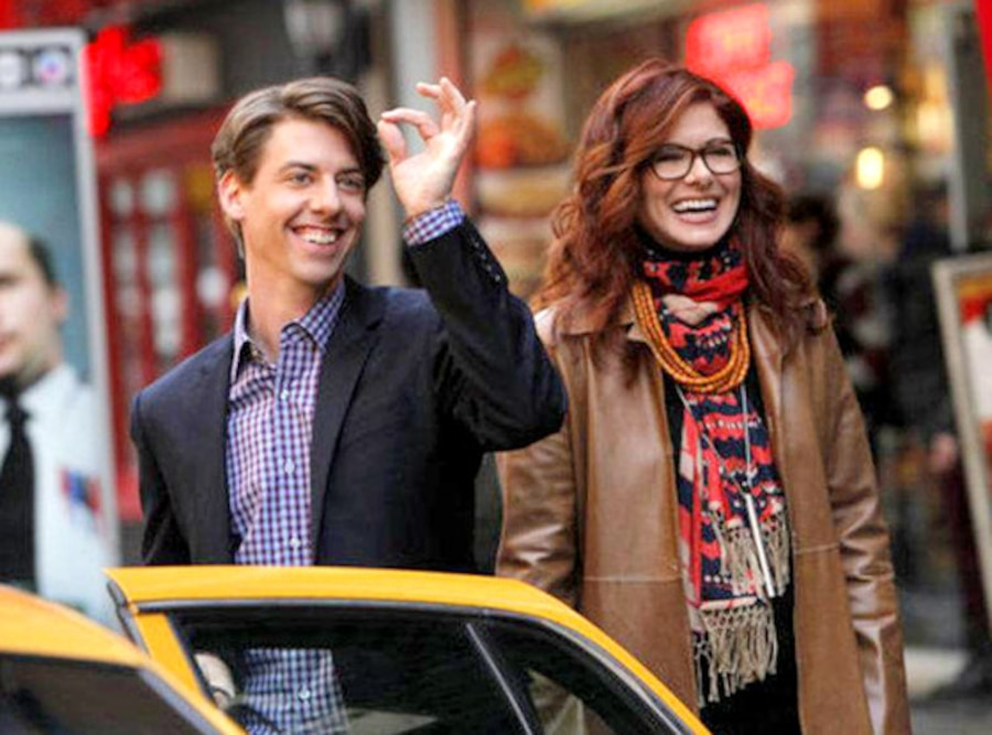 Christian Borle, Debra Messing, Smash