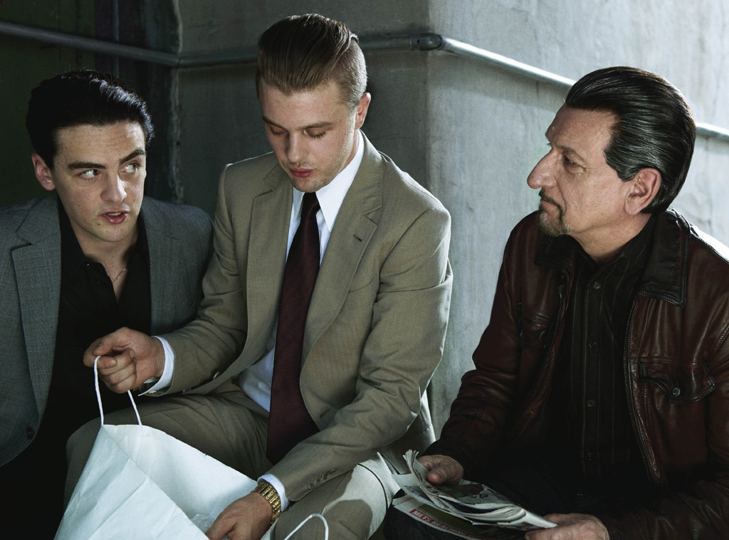 Vincent Piazza, Michael Pitt, Sir Ben Kingsley, Harper's Bazaar, Famous Movies