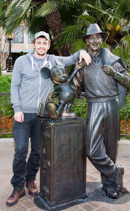 James Franco, Disneyland