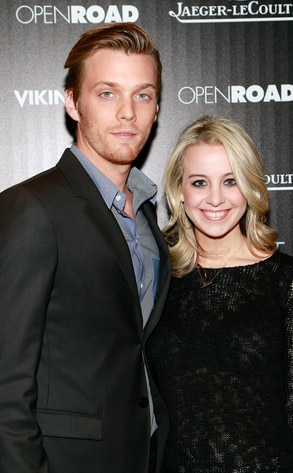 Jake Abel, Allison Wood, Engagement