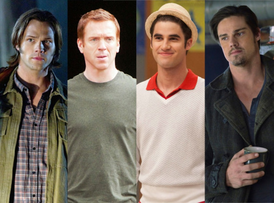 Jay Ryan, Beauty and the Beast, Damien Lewis, Homeland, Jared Padalecki, Supernatural, Darren Criss, Glee