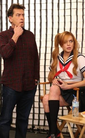 Lindsay Lohan, Charlie Sheen, Anger Management