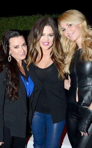Kyle Richards, Khloe Kardashian, Brandi Glanville