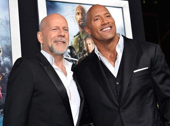 Bruce Willis, Dwayne The Rock Johnson