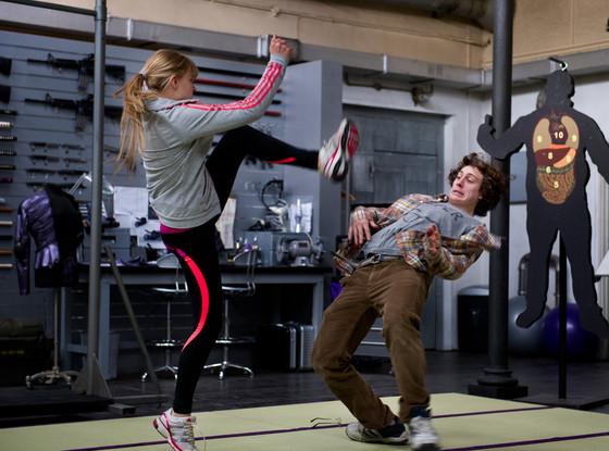 Chloe Moretz, Aaron Johnson, Kick-Ass 2