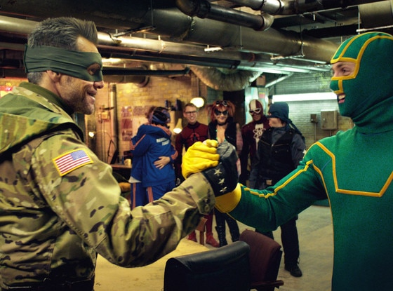 Jim Carrey, Aaron Johnson, Kick-Ass 2