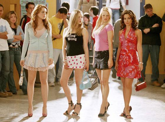 Mean Girls, Lindsay Lohan, Amanda Seyfried, Rachel McAdams, Lacey Chabert