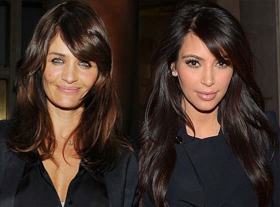 Helena Christensen, Kim Kardashian