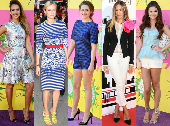 Jessica Alba, Diane Kruger, Kristen Stewart, Sarah Jessica Parker, Selena Gomez,