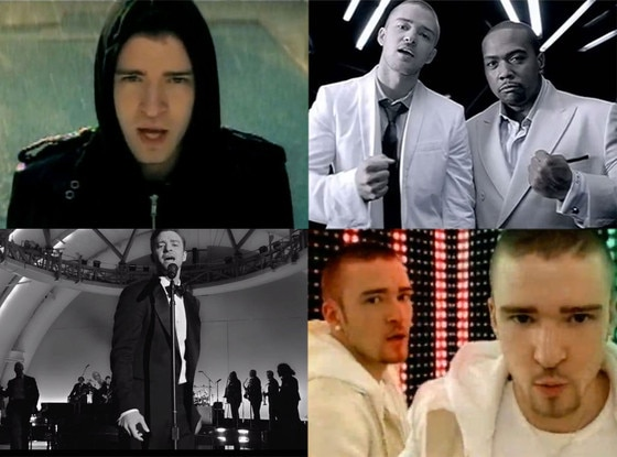 Justin Timberlake Music Videos