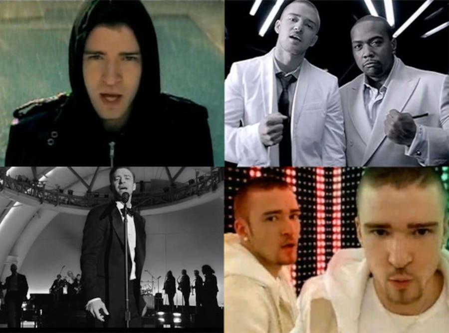 Justin Timberlake Music Videos