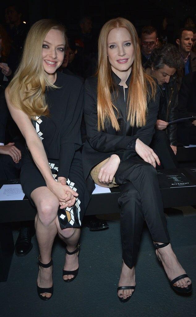 Amanda Seyfried, Jessica Chastain