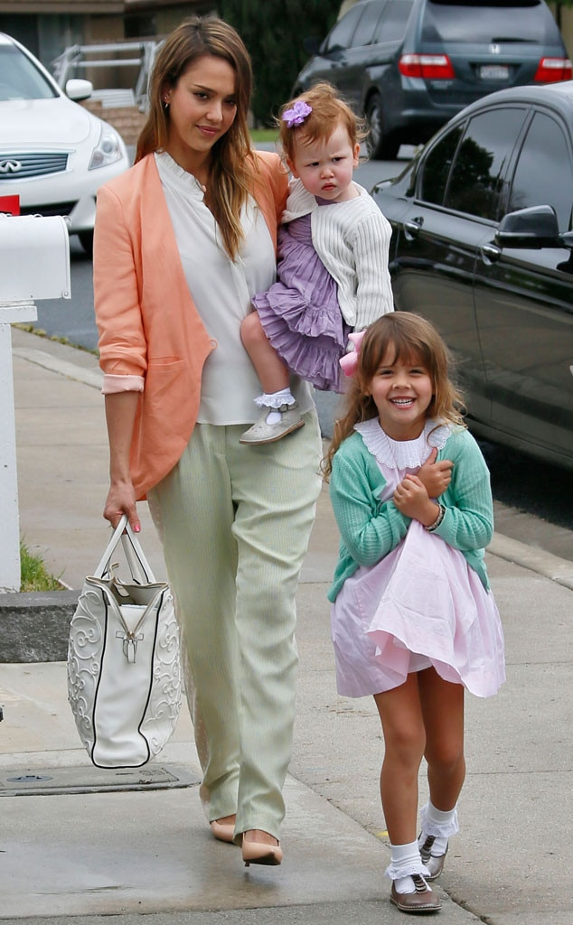 Jessica Alba, Honor Marie Warren, Haven Warren