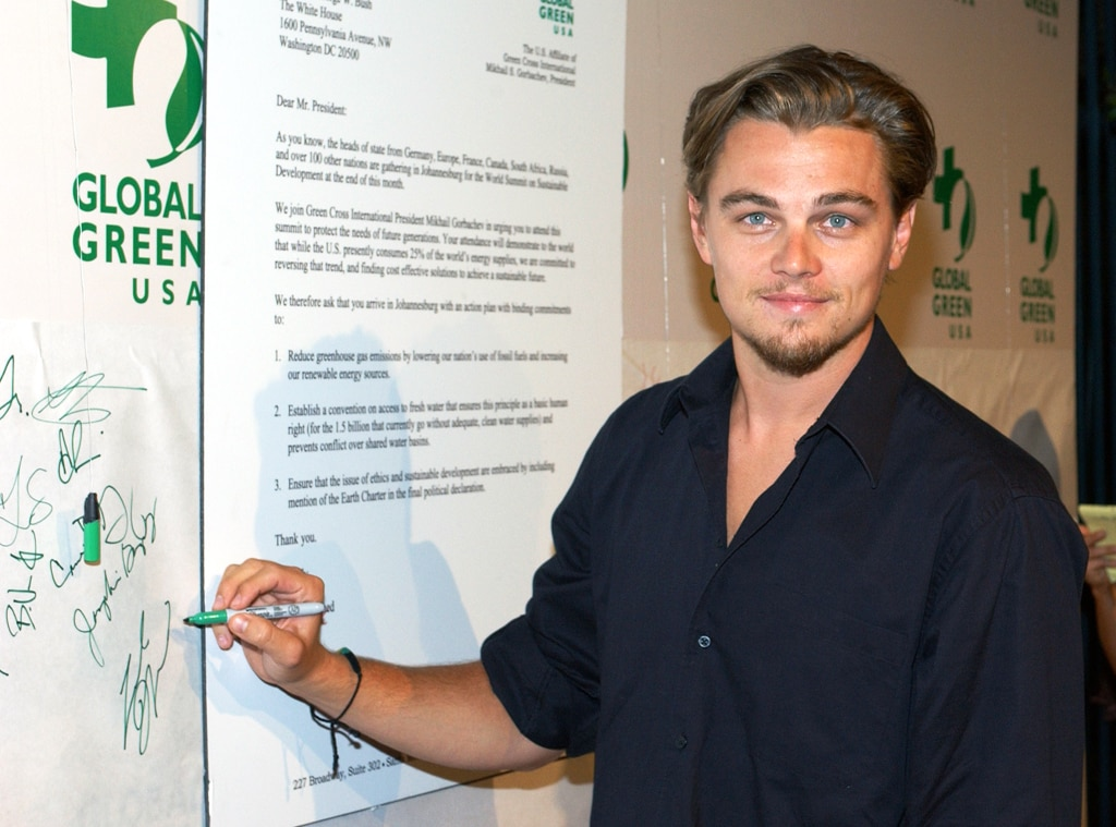 Leonardo DiCaprio, The Earth Summit Party, Global Green USA