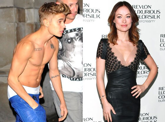 Justin Bieber, Olivia Wilde