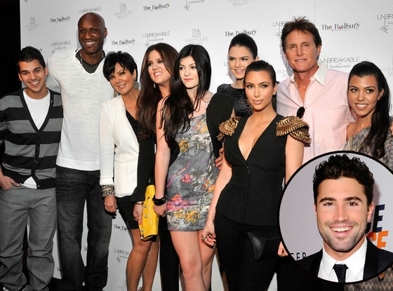 Brody Jenner, Kardashian Jenner Family