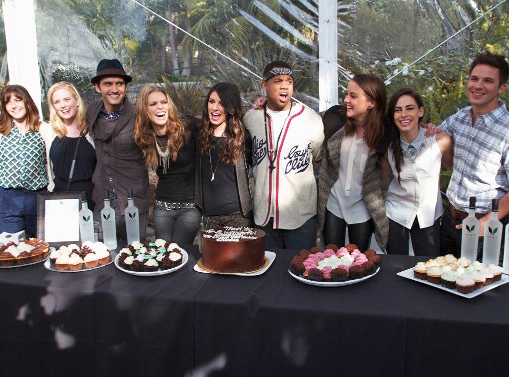 90210 Cast, Wrap Party
