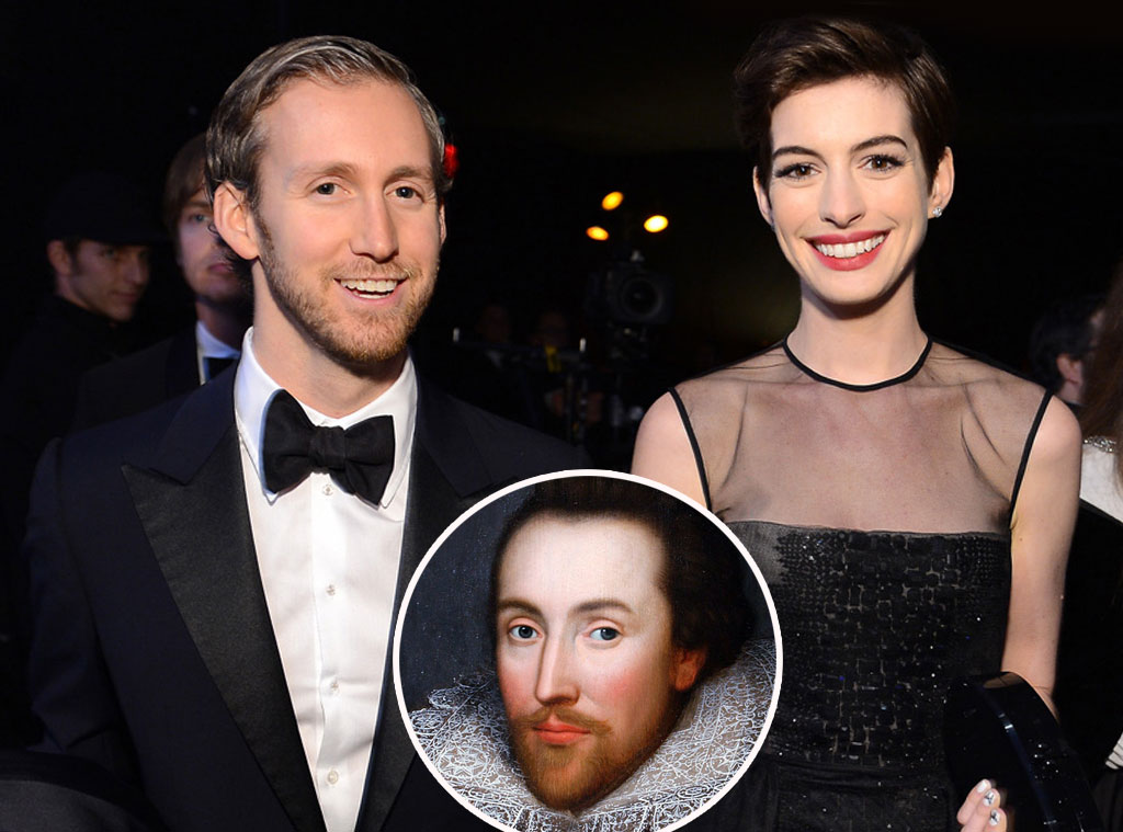 Adam Shulman, Anne Hathaway, William Shakespeare