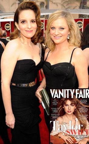 Tina Fey, Amy Poehler, Taylor Swift, Vanity Fair