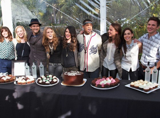 90210 Cast, Wrap Party
