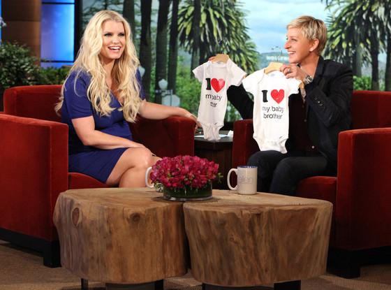Jessica Simpson, Ellen DeGeneres